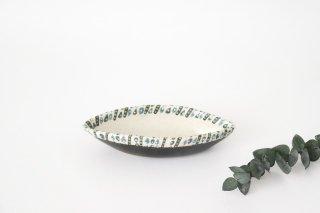 葉っぱ型小鉢 ドロップ 陶器 樋口早苗商品画像