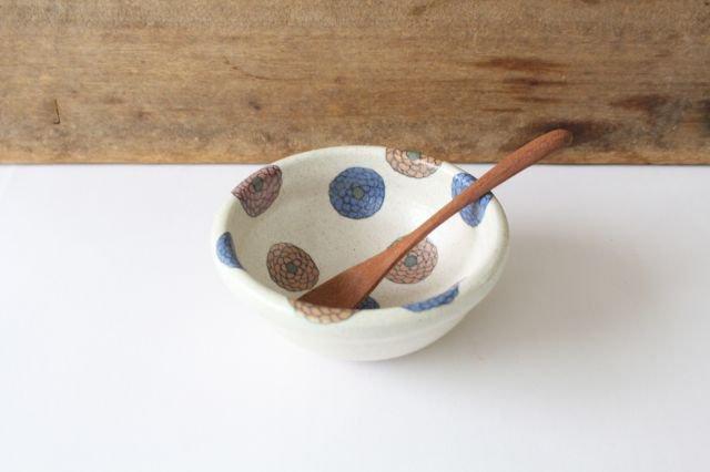 フラワー 菊丸小鉢 陶器 樋口早苗