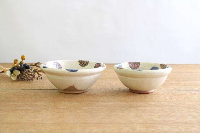 フラワー 菊丸小鉢 陶器 樋口早苗 画像2