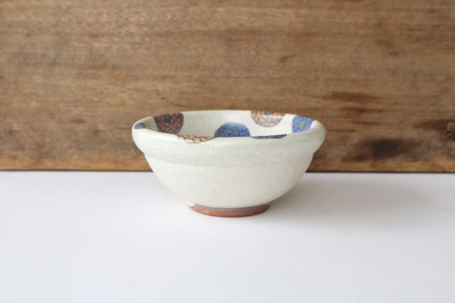フラワー 菊丸小鉢 陶器 樋口早苗 画像4
