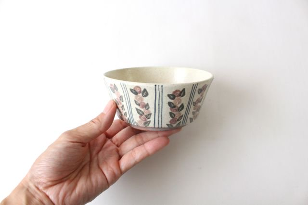 フラワー&ライン小鉢 陶器 樋口早苗 画像5