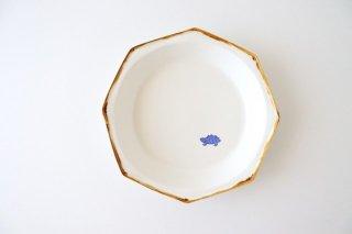 ハリネズミの八角深皿 中 磁器 原村俊之商品画像