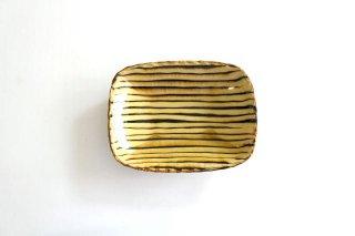 長角皿 ボアーズヘッド クリーム 陶器 紀窯商品画像