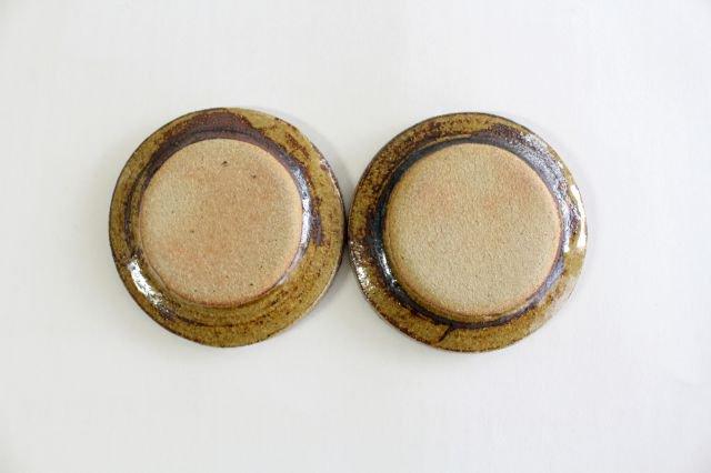リム丸皿 豆 輪 クリーム 陶器 紀窯 画像3