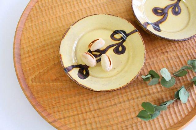 リム丸皿 豆 輪 クリーム 陶器 紀窯 画像6