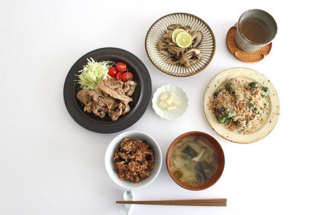 5寸皿 トビカンナ 【A】 陶器 小鹿田焼  画像2