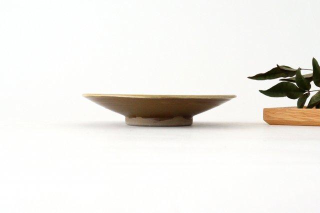 5寸皿 トビカンナ 【A】 陶器 小鹿田焼  画像3