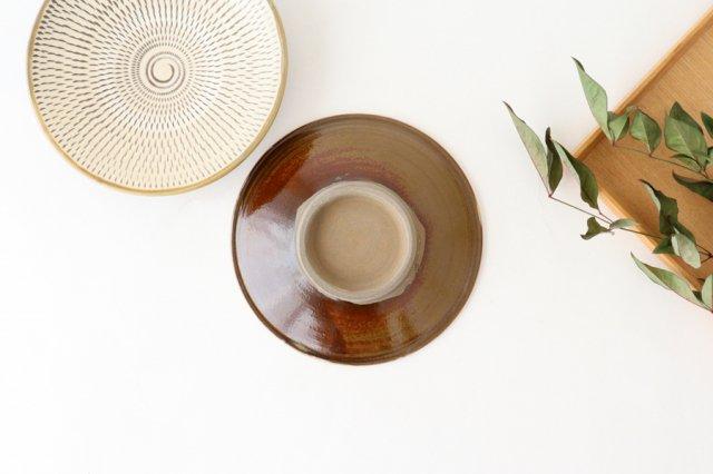 5寸皿 トビカンナ 【A】 陶器 小鹿田焼  画像4
