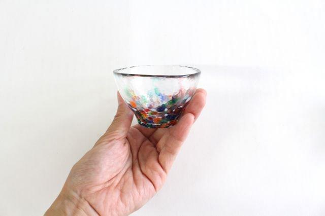 ねぶた 盃 ガラス 津軽びいどろ 画像2
