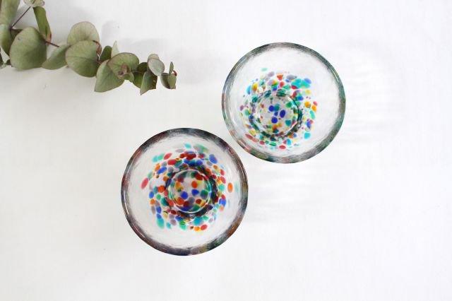 ねぶた 盃 ガラス 津軽びいどろ 画像5