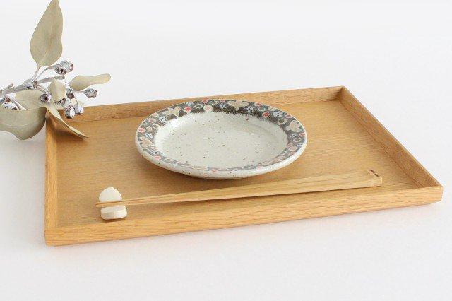 リム皿 小 小さな森 半磁器 森陶房 砥部焼 画像3