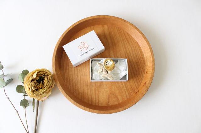 ブローチ イエロー 陶器 harasawa ayaka 画像4