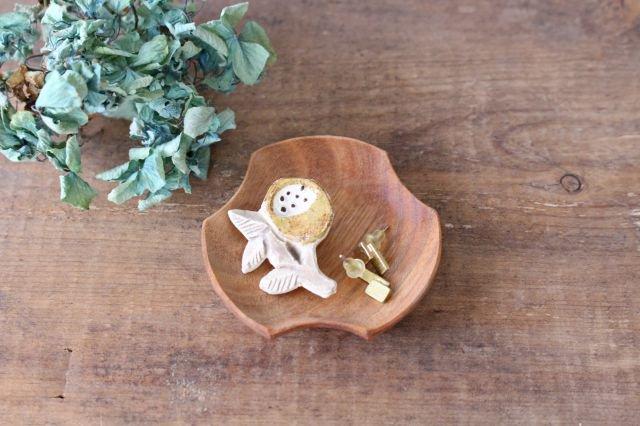 ブローチ イエロー 陶器 harasawa ayaka 画像6