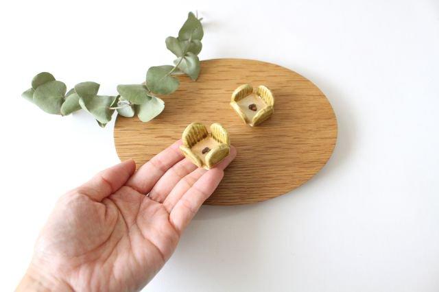 花の箸置きA 黄 陶器 harasawa ayaka 画像4