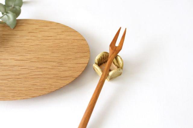 花の箸置きA 黄 陶器 harasawa ayaka 画像6