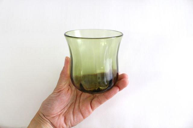 七里長浜 フリーカップ ガラス 津軽びいどろ 画像2