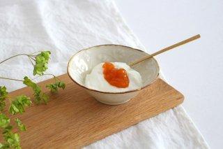 菊唐草紋 3.5寸鉢 陶器 村田亜希 益子焼商品画像