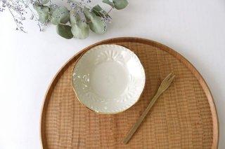 半菊花 3.5寸小皿 陶器 村田亜希 益子焼商品画像