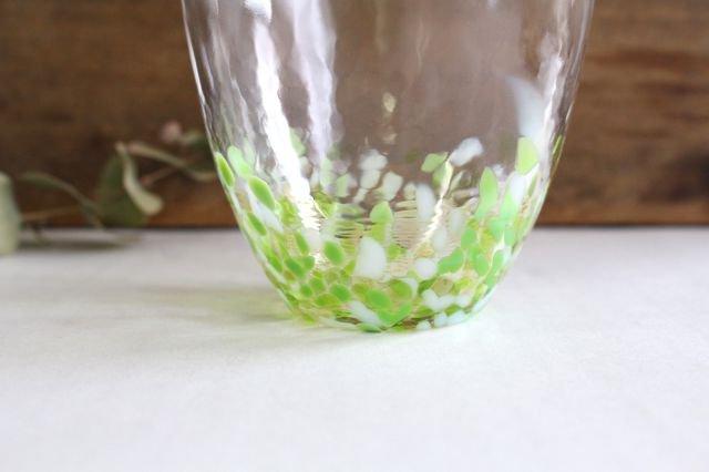 青りんごカップ ガラス 津軽びいどろ 画像6
