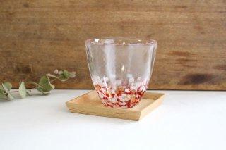 赤りんごカップ ガラス 津軽びいどろ商品画像