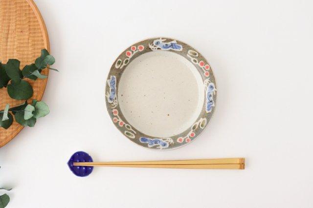 リム皿 小 青い鳥 半磁器 森陶房 砥部焼 画像6