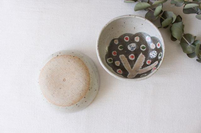 たたら作り小鉢 小さな森 半磁器 森陶房 砥部焼 画像4