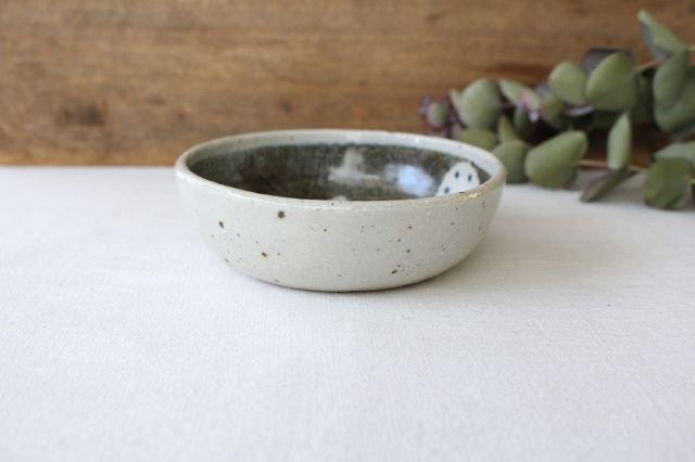 たたら作り小鉢 青い鳥 半磁器 森陶房 砥部焼 画像5