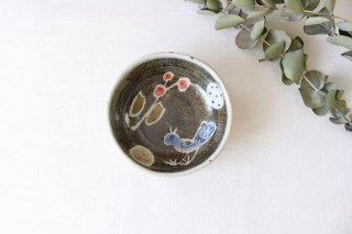 たたら作り小鉢 青い鳥 半磁器 森陶房 砥部焼商品画像