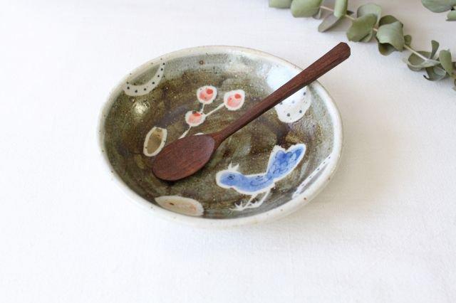 銘々皿 大 青い鳥 半磁器 森陶房 砥部焼 画像4