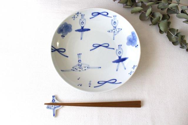 箸置き バレリーナ フリル 磁器 森陶房 砥部焼 画像6