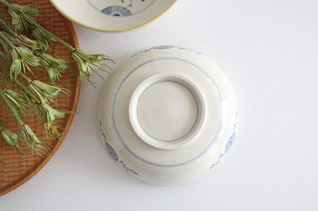 三菊唐草紋 5寸鉢 陶器 村田亜希 益子焼 画像2