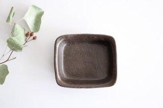 キャラメリゼブラウン 角ボウル S 陶器 木のね商品画像