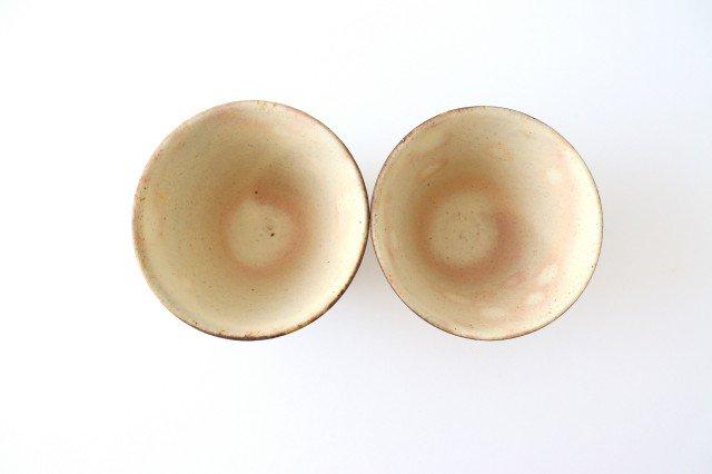 粉福フリーカップ 反り 陶器 木のね 画像2