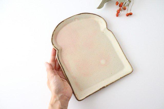 粉福食パン皿 L 陶器 木のね 画像3