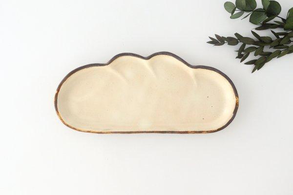 粉福 コッペパン皿 S 陶器 木のね商品画像