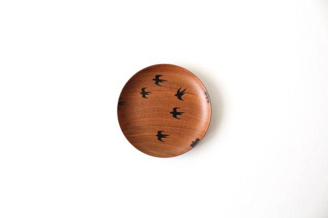 豆皿 ツバメ さくら 【B】 白鷺木工