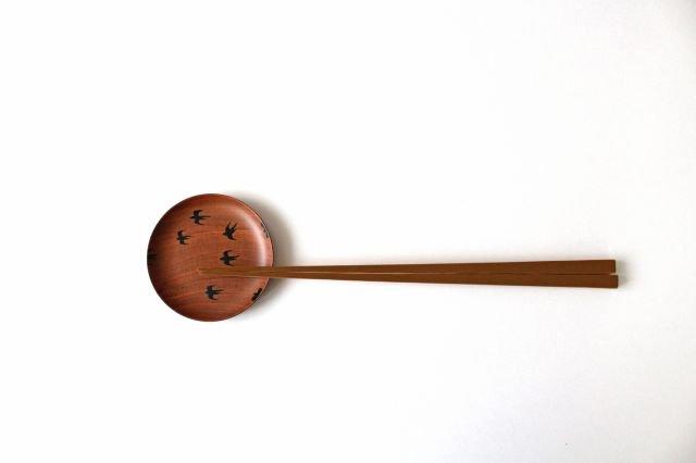 豆皿 ツバメ さくら 【B】 白鷺木工 画像6