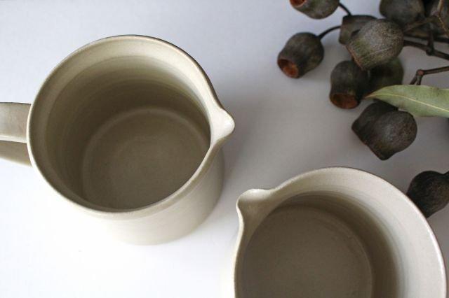 ピッチャー 白せと 陶器 青人窯 画像4