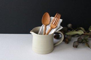 ピッチャー 白せと 陶器 青人窯商品画像