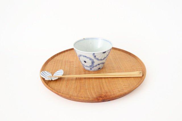 小鉢 小 菊紋 磁器 皐月窯 砥部焼 画像5