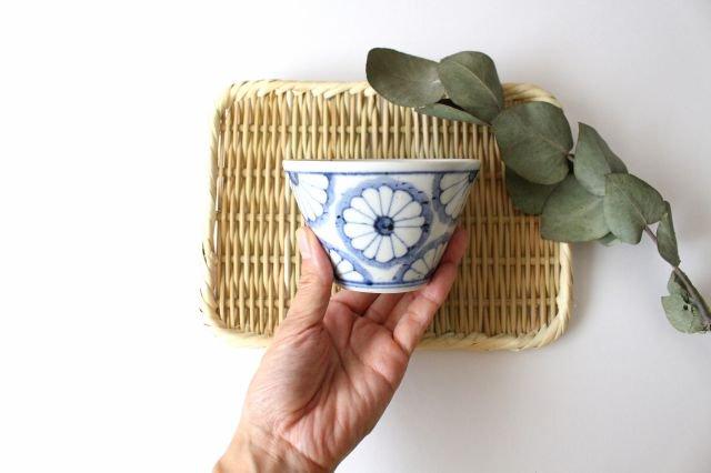 小鉢 小 菊紋 磁器 皐月窯 砥部焼 画像6