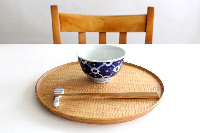 茶碗 染付花 磁器 皐月窯 砥部焼 画像5