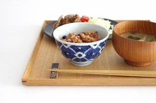 茶碗 染付花 磁器 皐月窯 砥部焼商品画像
