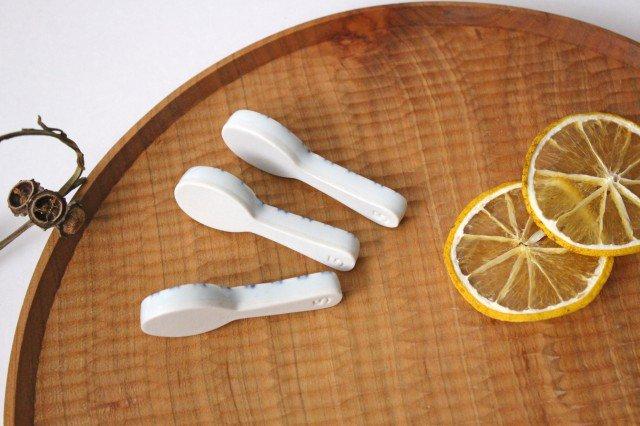 箸置き スプーン ボーダー 磁器 皐月窯 砥部焼 画像3