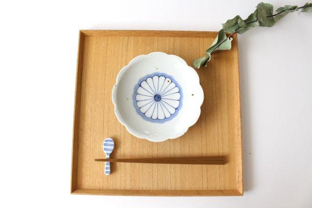 箸置き スプーン ボーダー 磁器 皐月窯 砥部焼 画像5