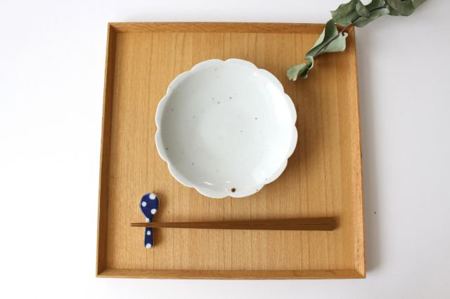 箸置き スプーン 水玉 磁器 皐月窯 砥部焼 画像5