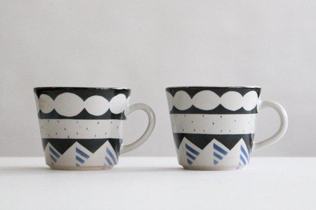 マグカップ アメヤマ 陶器 はるな陶芸工房 画像5