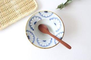 4寸縁付鉢 菊紋 磁器 皐月窯 砥部焼商品画像