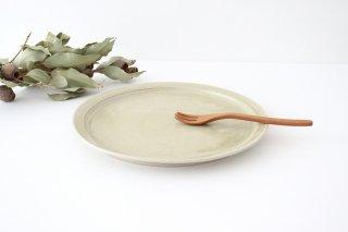 8寸皿 魚沼緑灰 陶器 青人窯商品画像