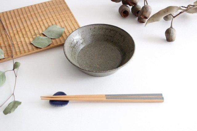 浅鉢 柿灰 陶器 青人窯 画像4
